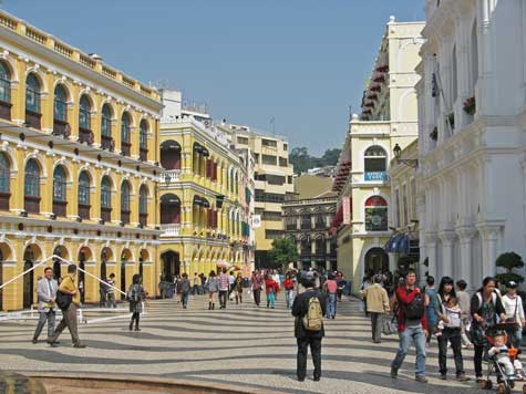 Famous Landmarks in Macao China